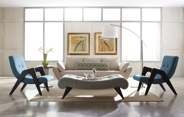 Картинка дизайн, дом, стиль, комната, вилла, интерьер, гостиная