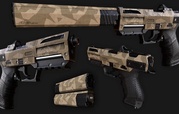 Картинка gun, rifle, camouflage