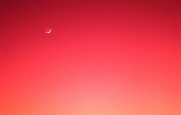 Картинка небо, луна, затмение