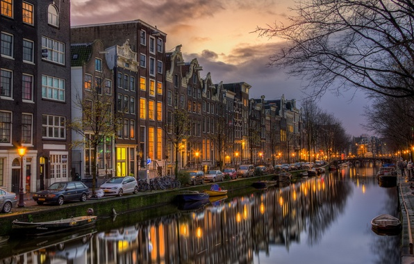 Картинка Amsterdam, Netherlands, North Holland