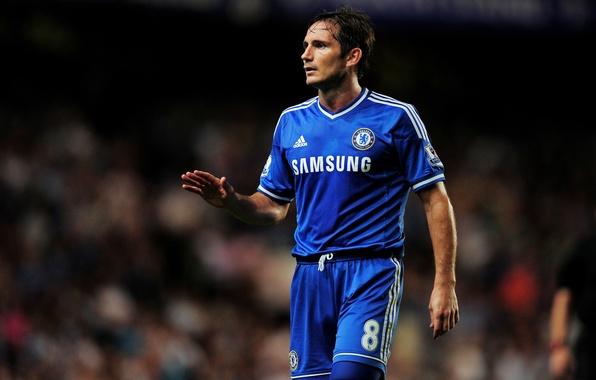 Картинка футбол, Англия, Лондон, Капитан, Адидас, Blues, adidas, football, London, Frank Lampard, captain, ФК Челси, FC …