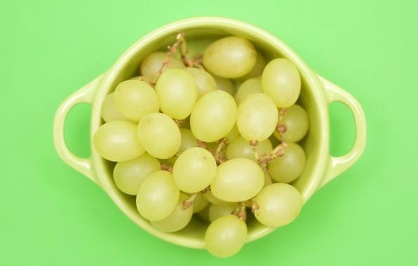 Картинка виноград, чашка, Green cubed