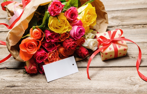 Подарки и букеты из цветов 68