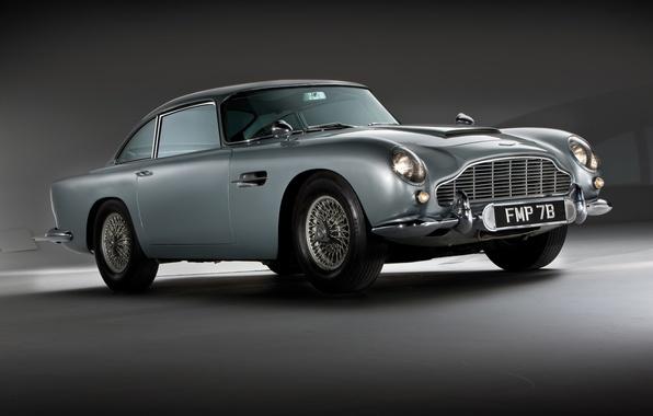 Картинка Aston Martin, классика, 1964, DB5, автомобиль Джеймса Бонда