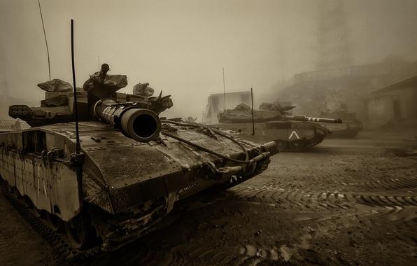 Картинка танк, боевой, Меркава, основной, Merkava, Израиля