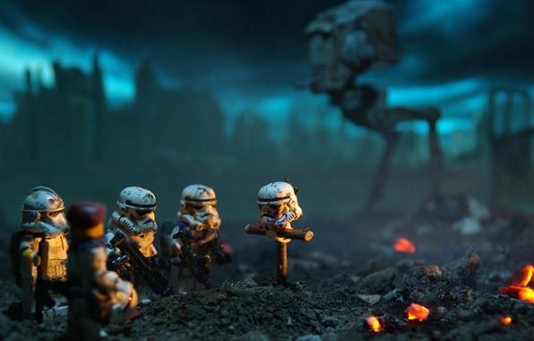 Картинка смерть, звездные войны, Star wars, штурмовики, stormtrooper