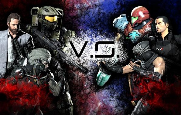 Картинка шлем, Halo, броня, Ninja Gaiden, Mass Effect, Raiden, Metal Gear Rising: Revengeance, Shepard, Jack, Ryu …