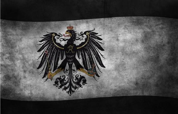 Картинка флаг, орёл, флаги, германия, королевство, империя, konigreich, бранденбург, volke, deutschland, пруссия, brandenburg, preussen, reich, koenigreich, …