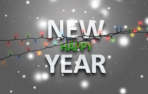 Фото new year новый год праздник 2013 огни