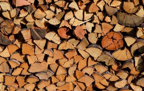 Картинка макро, фон, дрова
