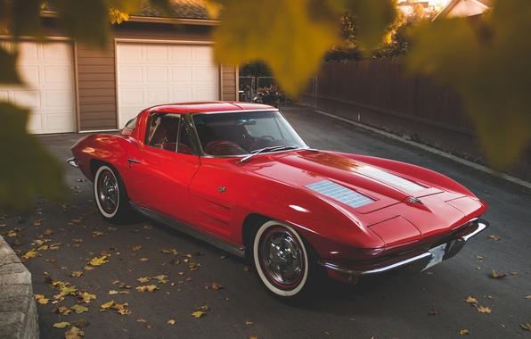 Картинка Corvette, Chevrolet, Stingray, 327
