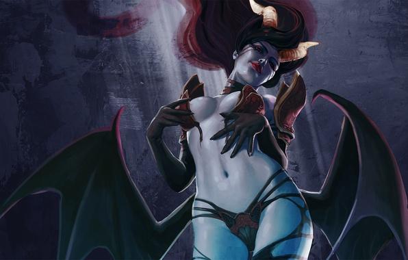 Секси демоница