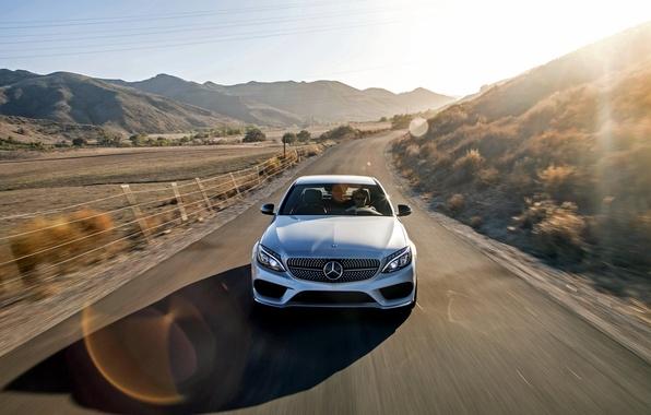 Картинка Mercedes-Benz, мерседес, AMG, амг, 2015, C-Class, W205