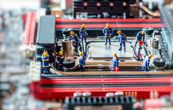 Картинка board, dolls, motherboard