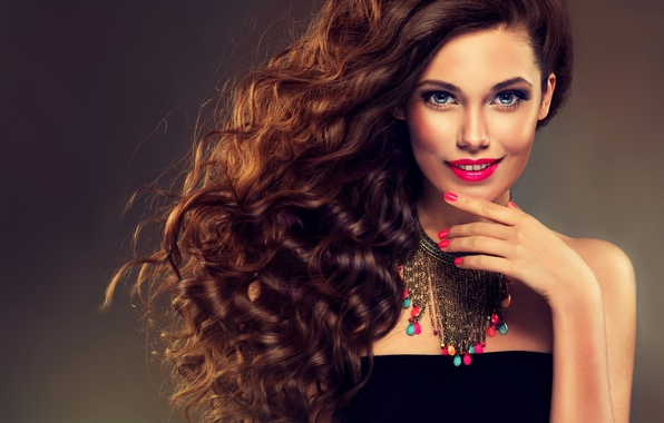Картинка sexy, model, brunette, elegant, makeup