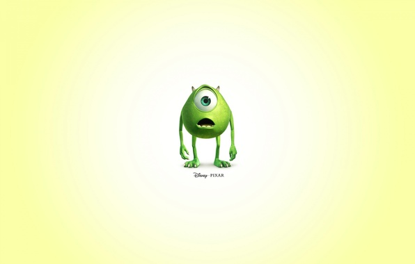 Картинка pixar, mike, disney, monster inc.