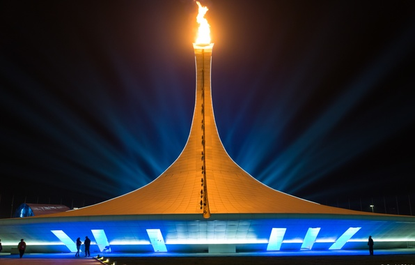 Картинка город, игры, Россия, Russia, олимпийские, Сочи, 2014, Сочи 2014, XXII Зимние Олимпийские Игры, Sochi 2014 …