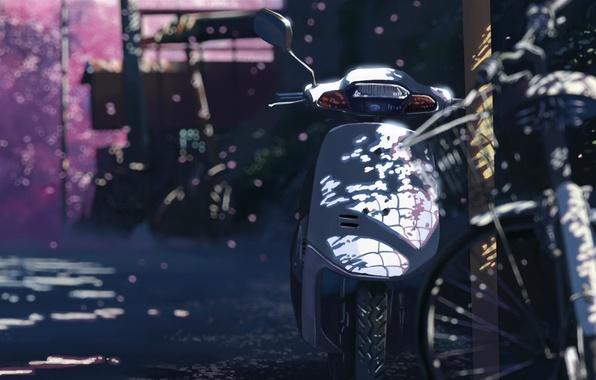 新海誠 バイク
