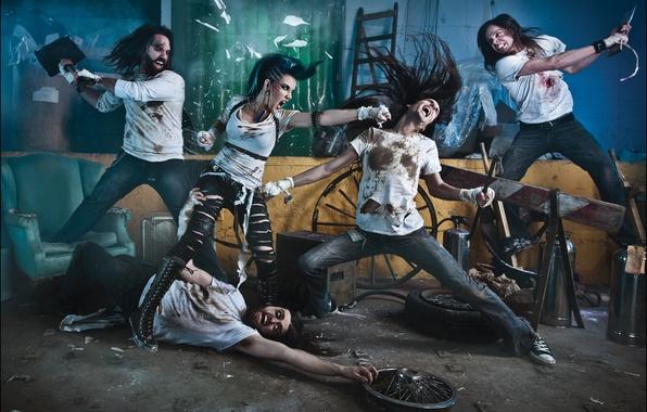 Картинка группа, metal, метал, band, death, металкор, deathcore, metalcore, melodic, Danny Marino, the agonist, Alissa White-Gluz, …