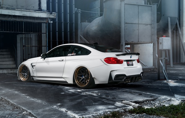 Картинка car, bmw, white, tuning, hq wallpaper, William Stern, f82