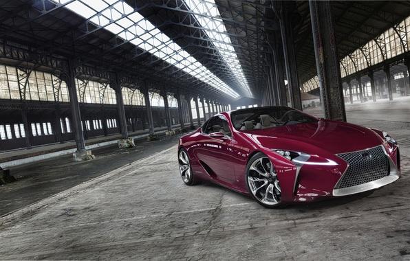 Картинка Lexus, concept, Концепт, Sport, LF-LC