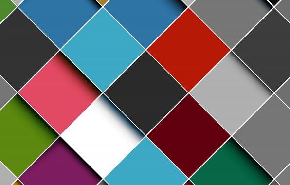 Картинка абстракция, фон, colors, colorful, abstract, background, ромбы