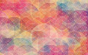 Картинка линии, сетка, узор, цвет, геометрия