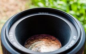Картинка объектив, линза, wallpaper, photography, nikon, 2560x1600, lens