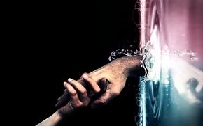 Картинка вода, рука, 150, помощь