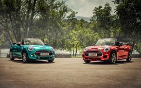 Обои купер, Cabrio, кабриолет, мини, F57, Mini, Cooper