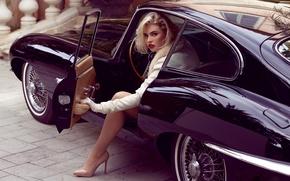 Обои kayslee collins, блондинка, model, playboy, girl