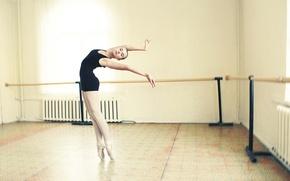 Обои девушка, танец, фигура
