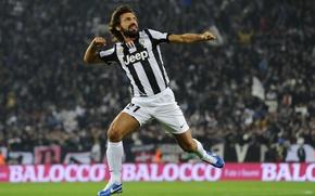 Картинка футбол, football, Pirlo, Juventus, Пирло