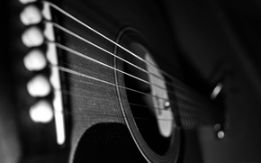 Обои корпус, гитара, струны, dusty guitar