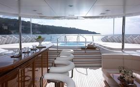 Картинка luxury, deck, motor, yacht Secret