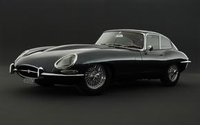 Картинка ретро, спорткар, jaguar, e-type