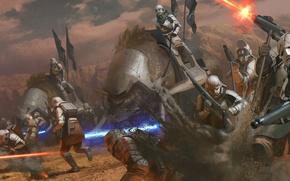Картинка Star Wars, Звёздные войны, фан-арт, Stormtroopers, Андрей Первухин