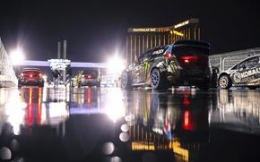 Картинка ночь, ford, форд, фиеста, fiesta