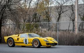 Картинка ford, yellow