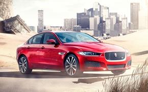 Картинка Jaguar, Red, 2015