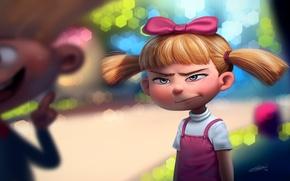 Картинка арт, девочка, Helga Pataki, DFer32, Hey Arnold