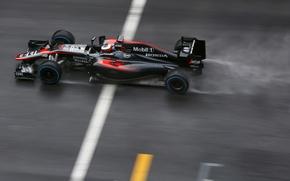 Картинка McLaren, Профиль, Formula 1, МакЛарен, Сыро