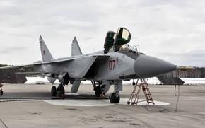 Картинка Foxhound, МиГ-31, стояночка