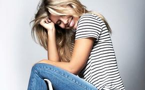 Картинка улыбка, блондинка, Natasha Oakley