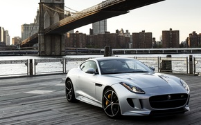 Картинка Jaguar, ягуар, US-spec, AWD, 2015, F-Type R
