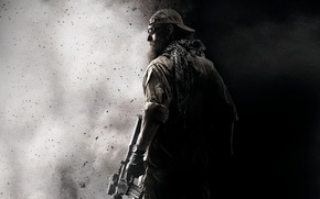 Картинка black & white, Game wallpaper, medal of honor