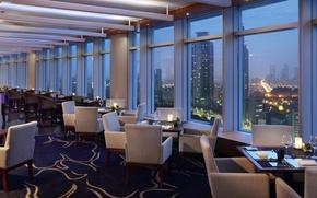 Картинка Seoul, restaurant, sky lounge, hotel Intercontinental, music bar
