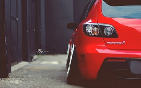 Картинка red, Mazda, мазда, mazda 3