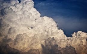 Картинка небо, облака, плотные
