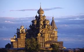 Картинка Россия, Кижи, Карелия, Церковь Преображения